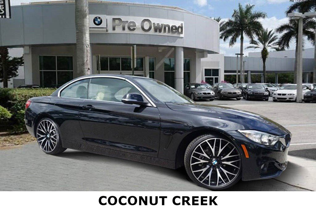 Bmw Certified Pre Owned >> Certified Pre Owned 2016 Bmw 4 Series 428i 2d Convertible In Coconut