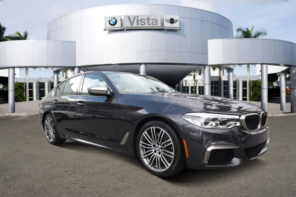 New 2018 BMW 5 Series M550i xDrive