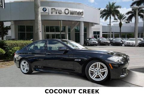 Certified Pre-Owned 2016 BMW 5 Series 535i