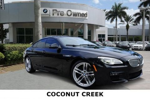 Certified Pre-Owned 2017 BMW 6 Series 650i Gran Coupe