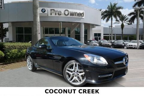 Pre-Owned 2015 Mercedes-Benz SLK SLK 350
